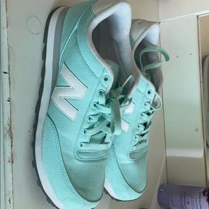 Blue New Balance Athletic Sneakers